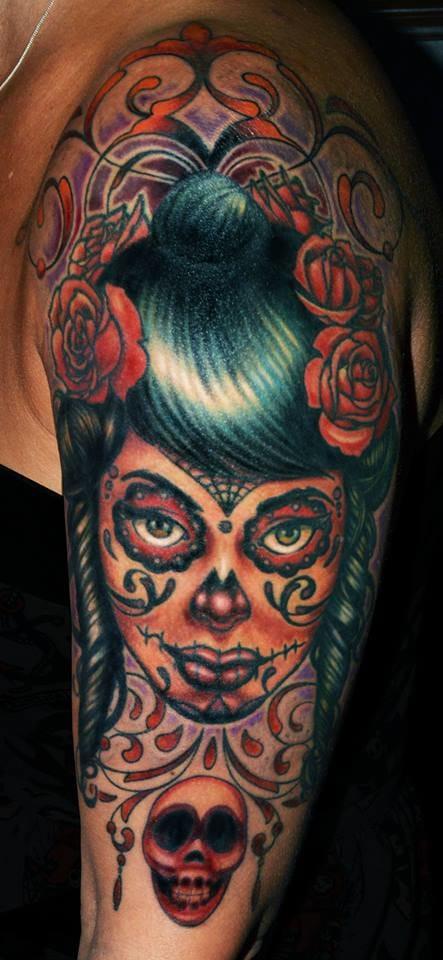 Half sleeve by David Monster.