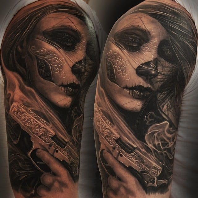 The mysterious and breath-taking work of Boris Tattoo...