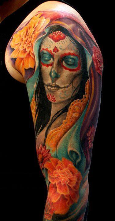 Lovely tattoo by Alex Gotza...