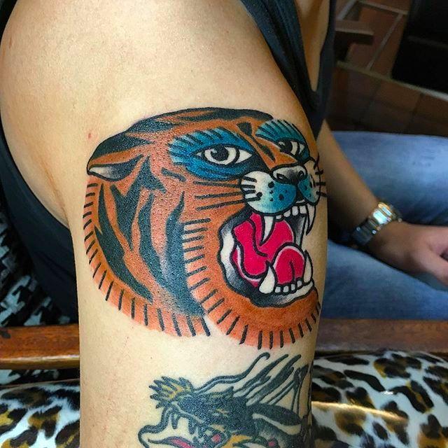 Straightforward Bold Tattoos by Wilson Ng