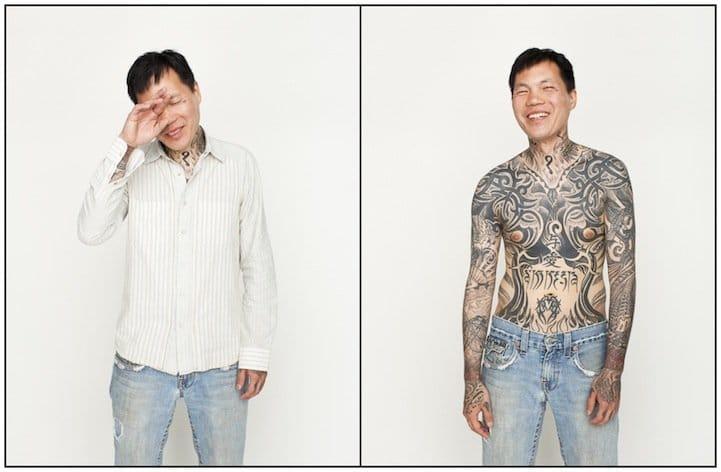 Hidden tattoos