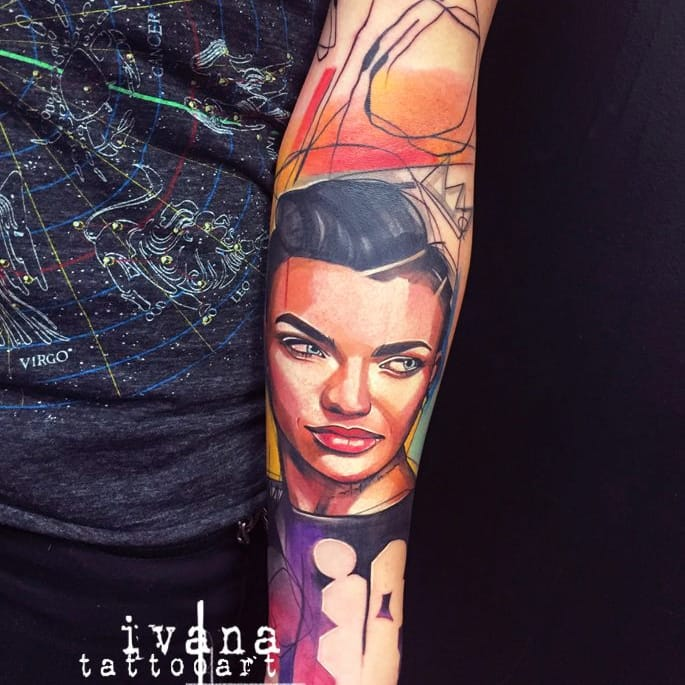 Ever Considered Getting A Ruby Rose Tattoo?