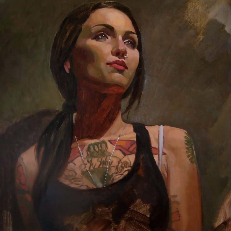Stunning Portraits of Tattooed Ladies by Michael Foulkrod