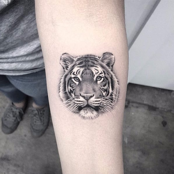 Sweet Monochromatic Tattoos by Elizabeth Markov