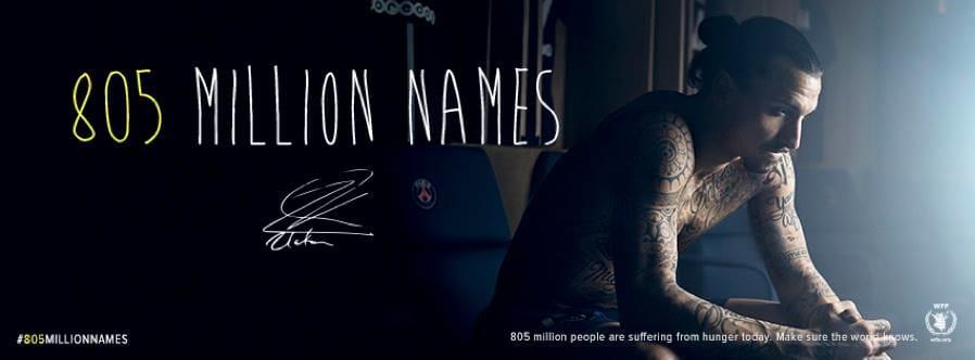 Footballer Zlatan Ibrahimović Gets 50 Names Tattooed For Charity