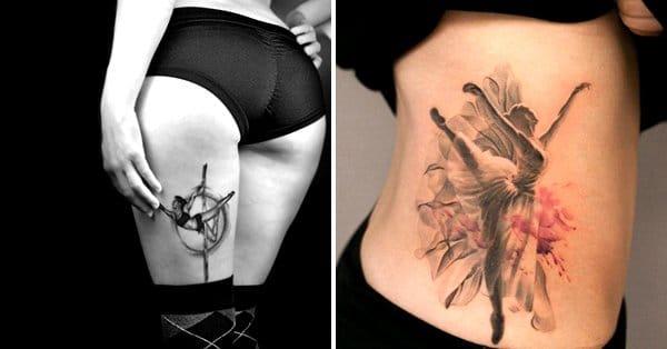16 Graceful Dancer Tattoos