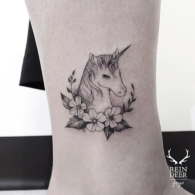 The Fine Line Flora and Fauna Tattoos of Goyo