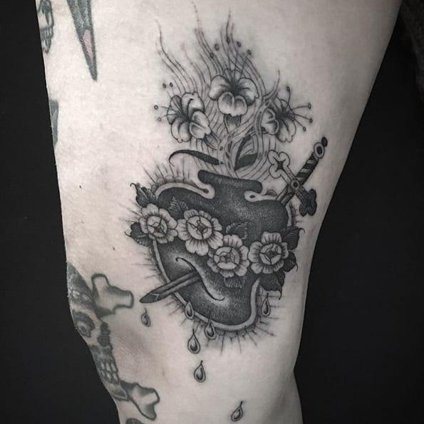 Gorgeous Single Needle Tattoos by Gabriele Cardosi