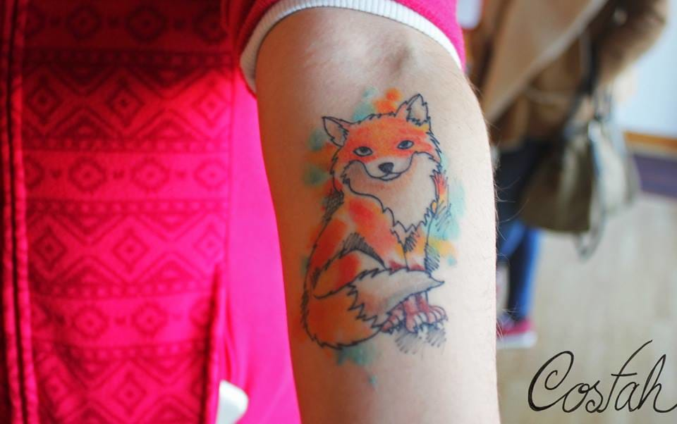 A lovely tattoo by Costah...