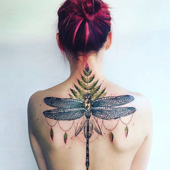 Relive Those Fondest Summer Days With These Dragonfly Tattoos