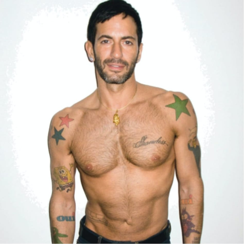 Reason #8342 Marc Jacobs is the Best: He has a Tattoo of his Own Couch