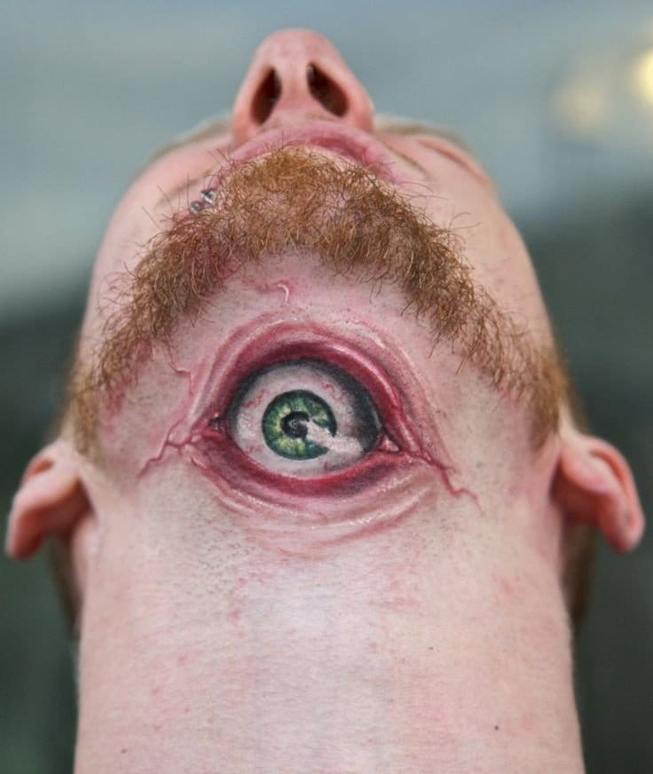 10 Awesome Under Chin Tattoos
