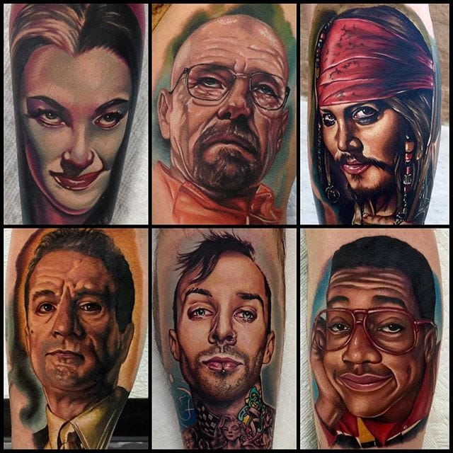 Color Realism Tattoos by Audie Fulfer Jr.