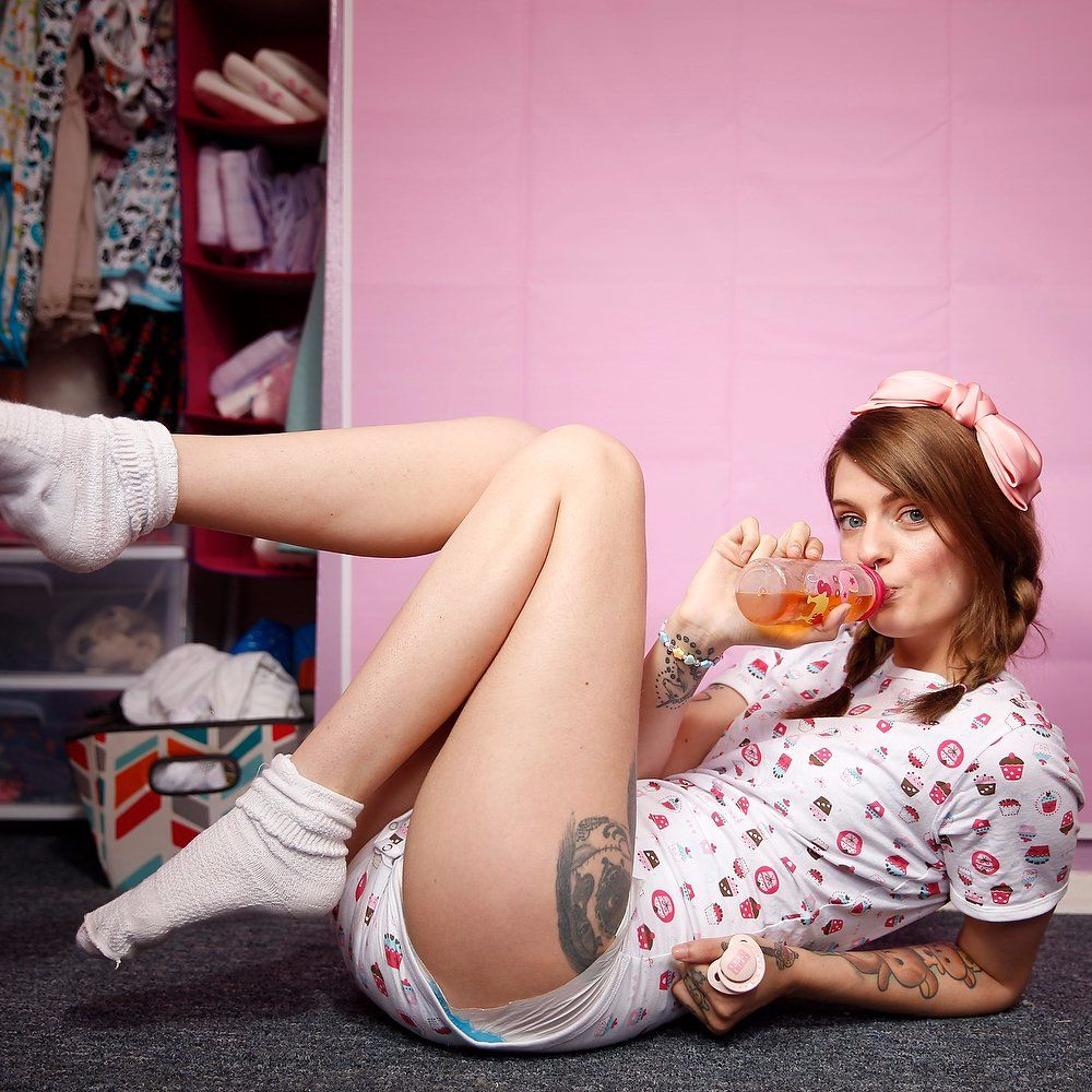 Tattooed Woman, 21, Lives Bizarre Life as an 'Adult Baby'