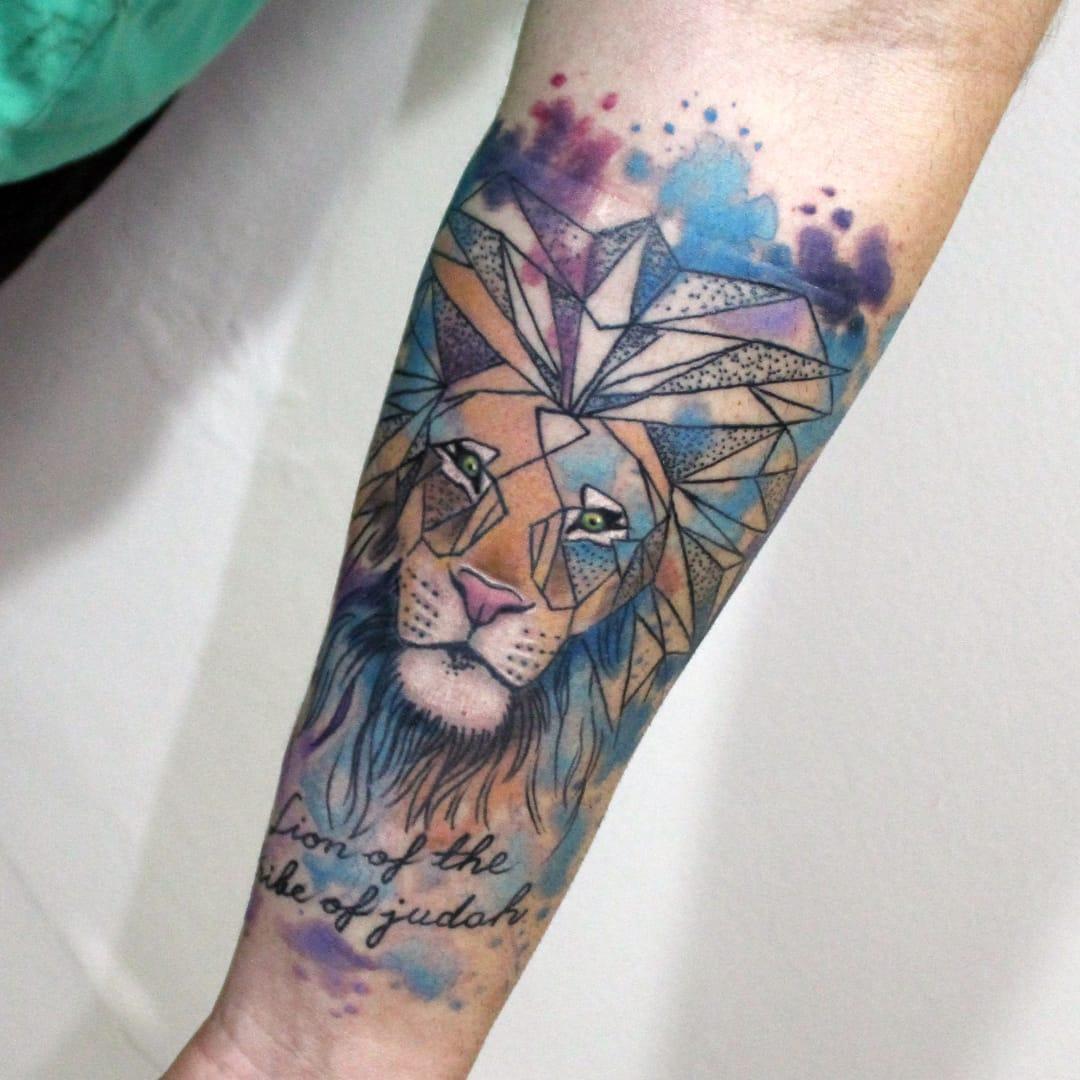 17 Lindas Tatuagens Coloridas Do Patrocinado Electric Ink Lester