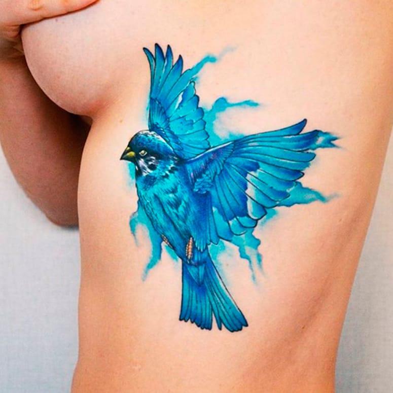 14 Magníficas Tatuagens Coloridas De Edson Junior