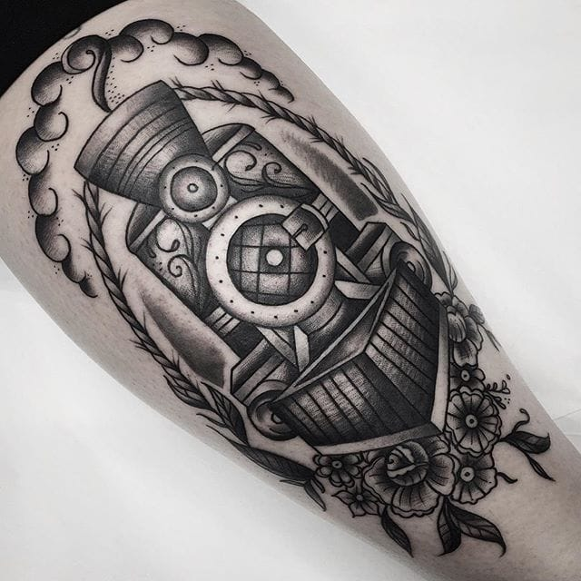 Traditional Black and Grey Tattoos by Cheyenne Gauthier