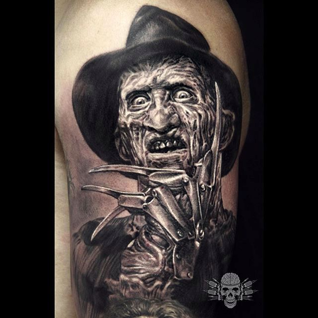 Intense Realistic Black and Grey Tattoos by Javier Antunez