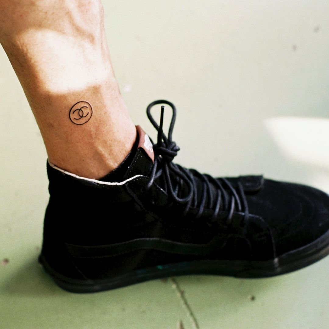 Chanel Logo Tattoo Made by a Robot - the Future of Branding?
