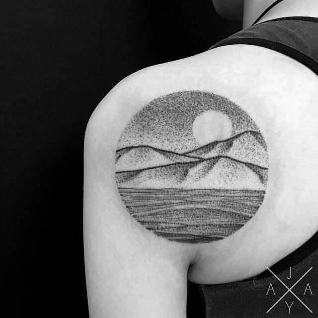 Peaceful Mountain Tattoos Part 2