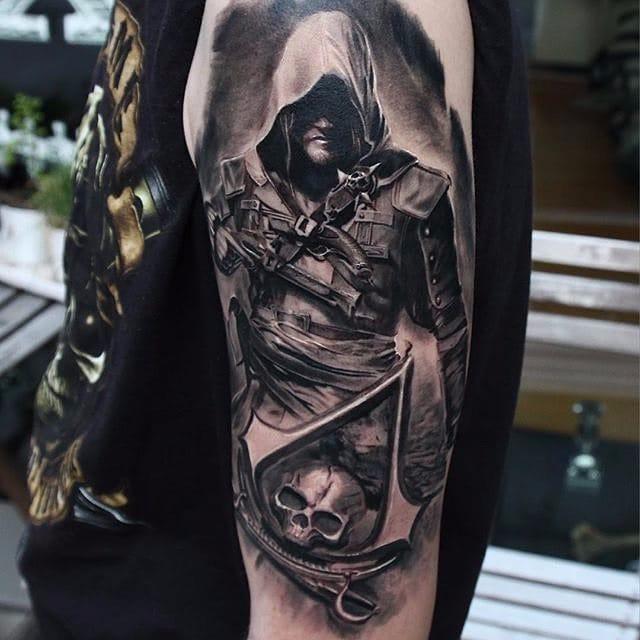 12 Badass Assassins Creed Tattoos