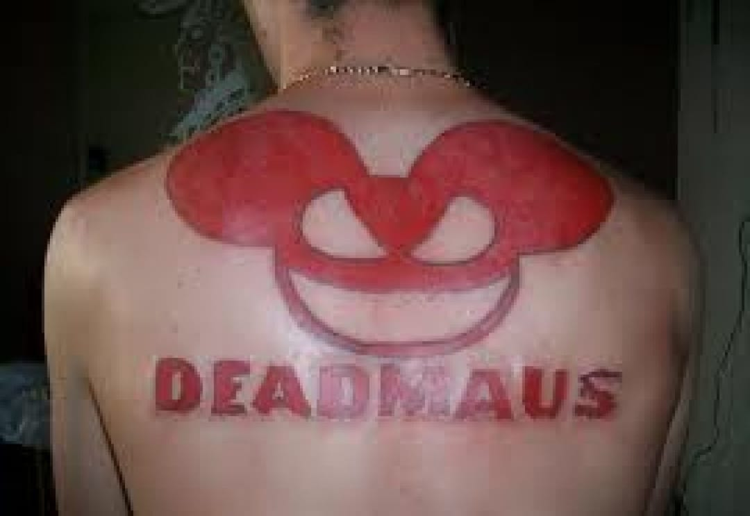 This Deadmau5 tattoo will forever be timeless..