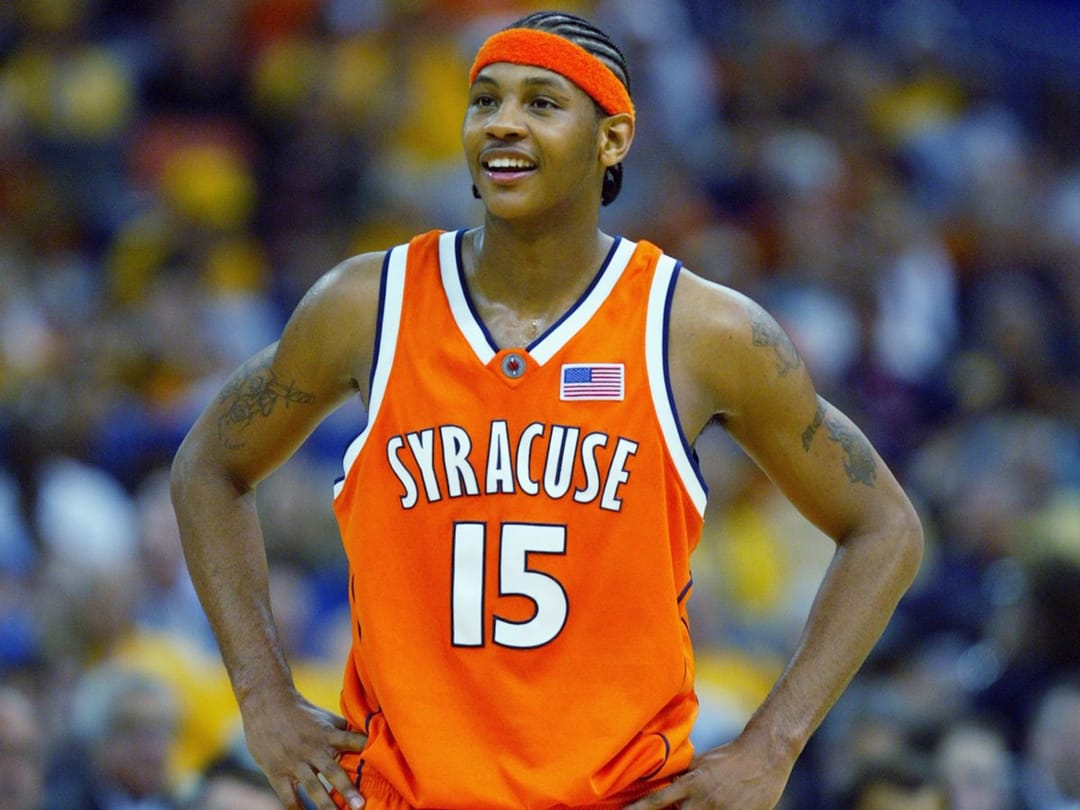 Melo playing for Syracuse