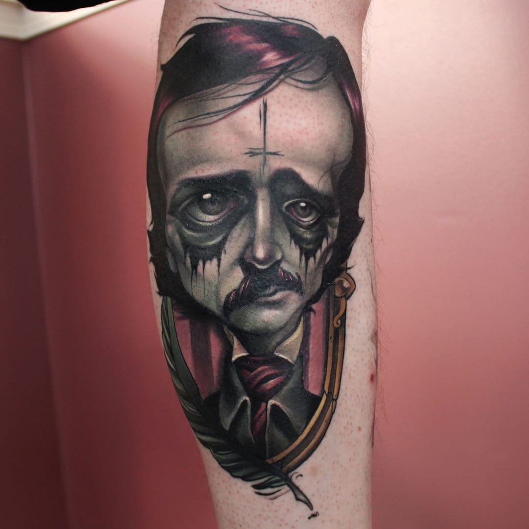 Also by Kelly Doty, an hilarious Edgar Allan Poe!