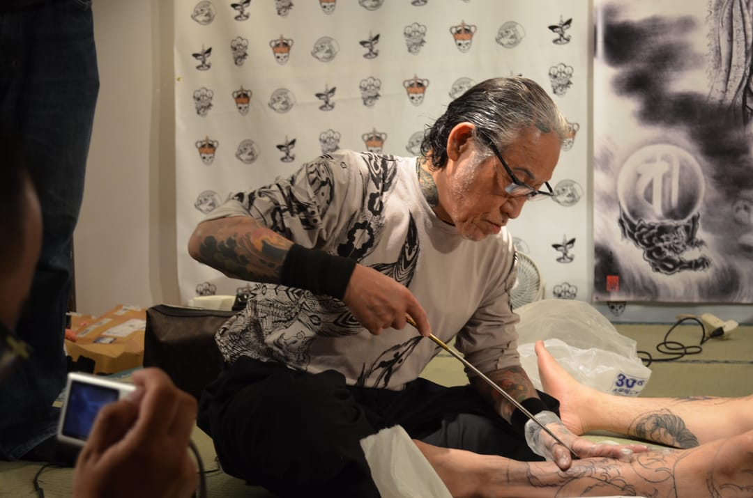 tattooing by professional