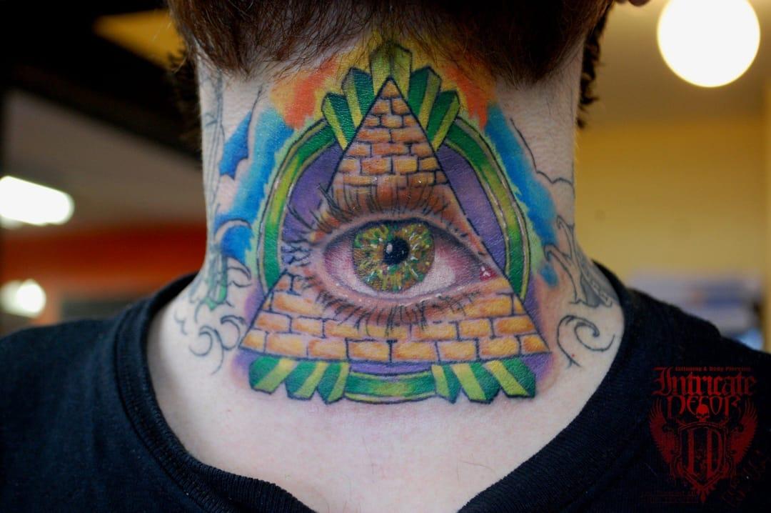 Brilliant tattoo by Jason Rhodes