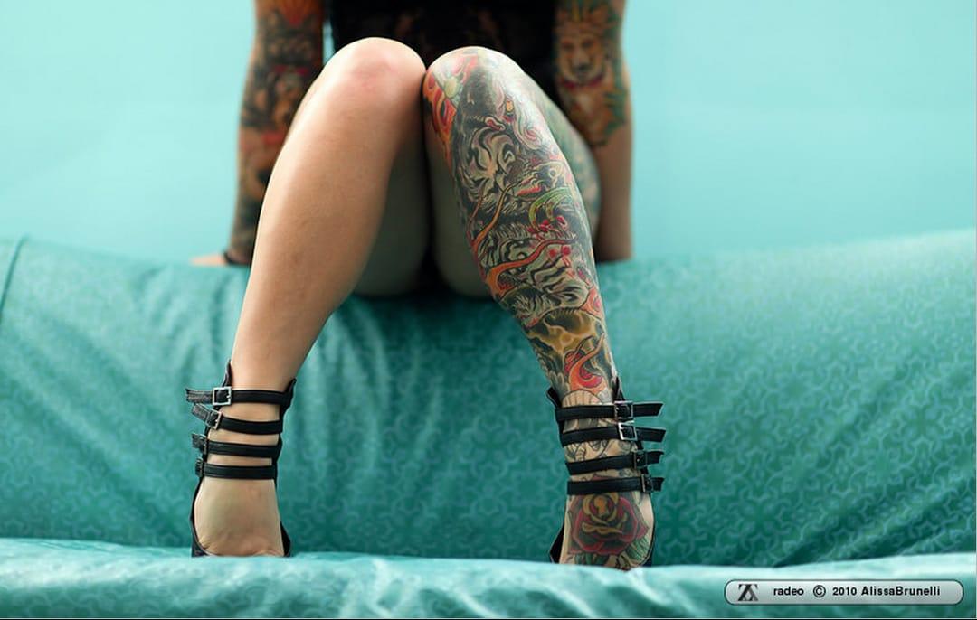 20 Stupendous Leg Sleeve Tattoos