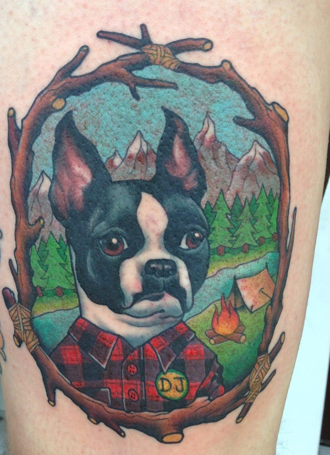 Tatuagem de David Bruehl