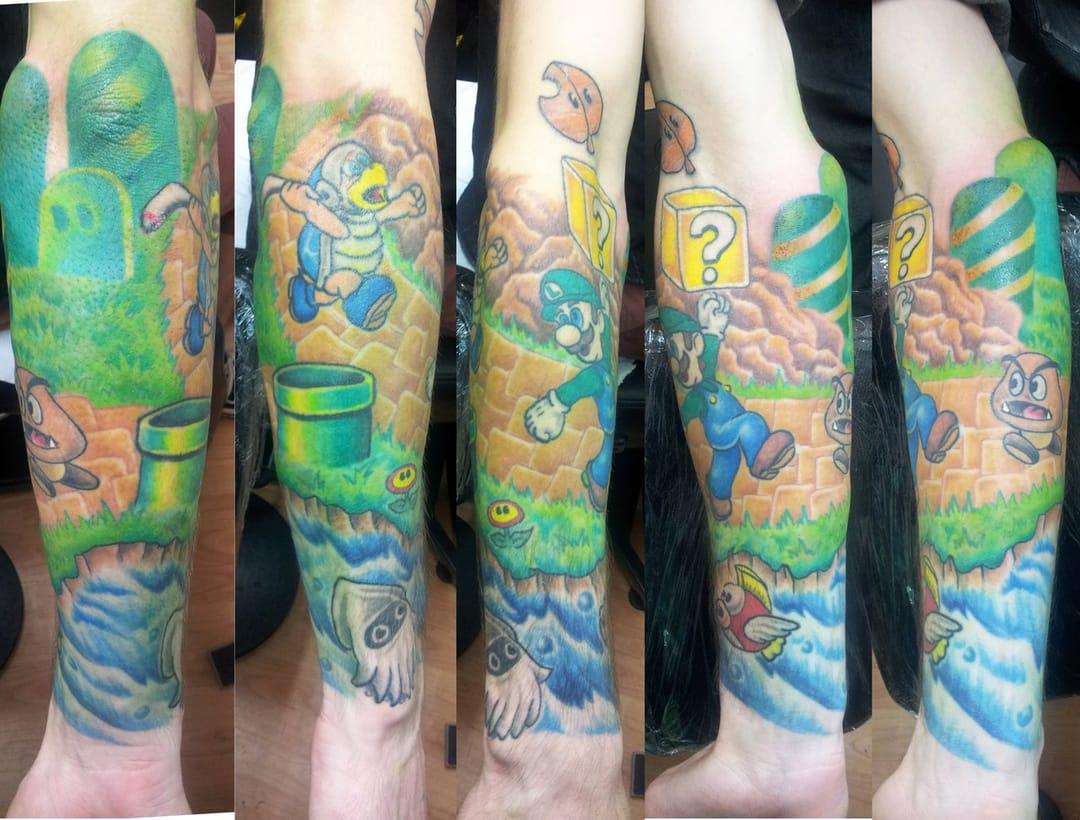 Tatuador Ashton Bkeje