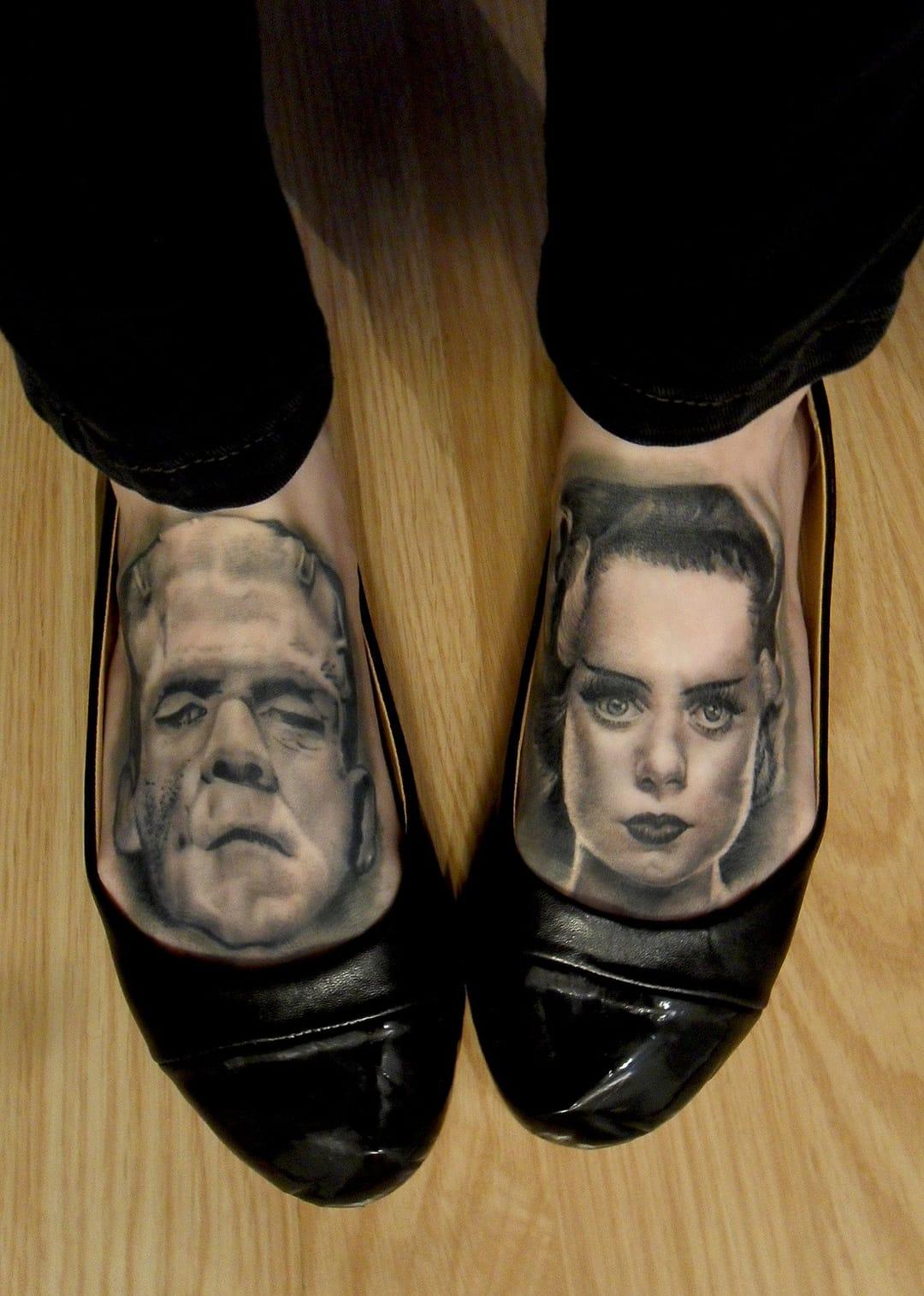 Realismo nos pés!