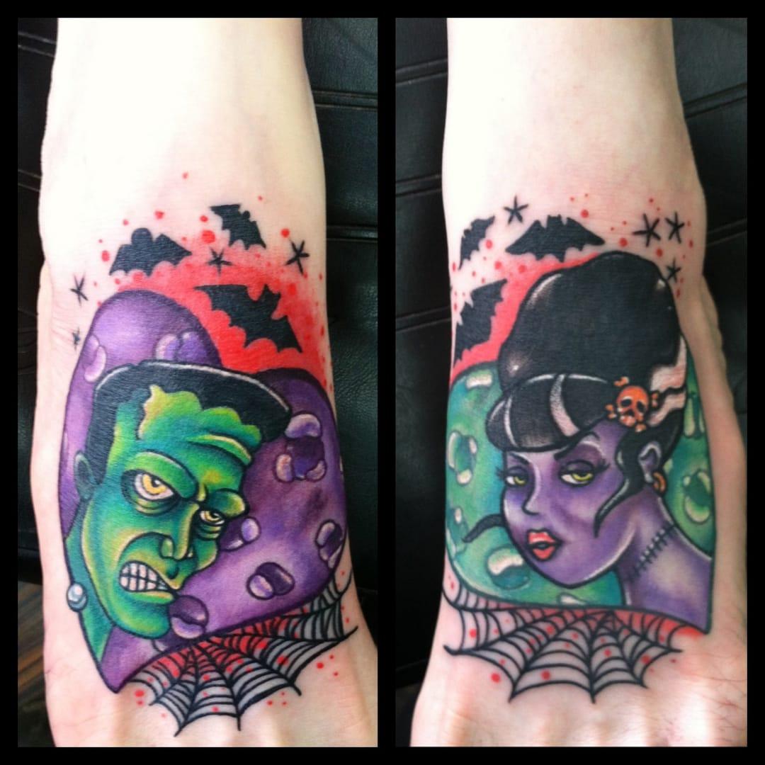 Tatuagem New School (Sabe o nome do artista? Nos conte nos comentários)