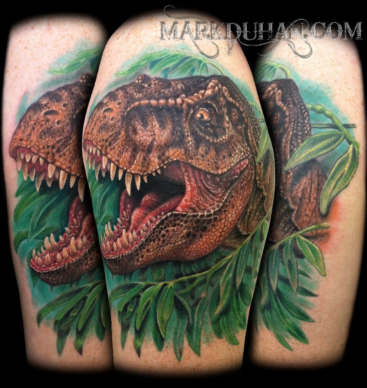14 Tatuagens Dos Lendários E Saudosos Dinossauros