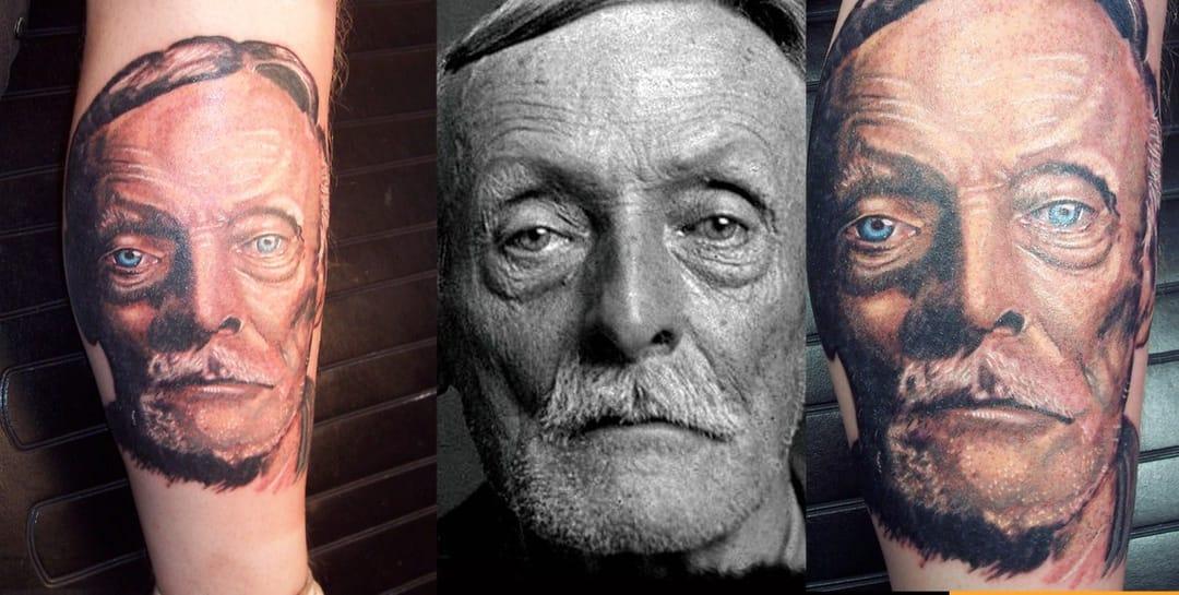 Albert Fish tattoo