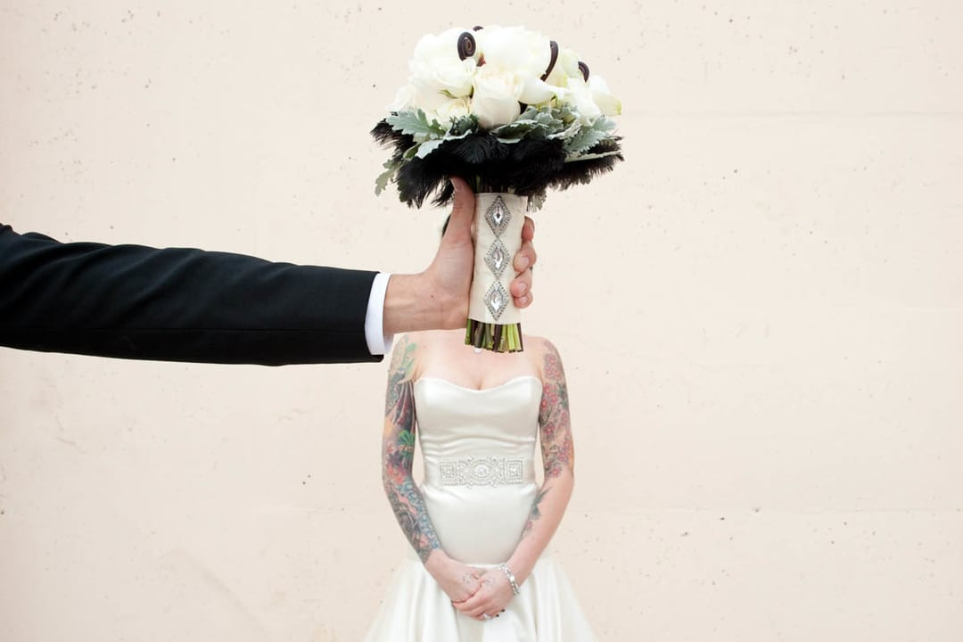 19 Lovely Tattooed Brides