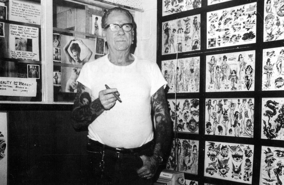 Tattoo legend Sailor Jerry played a huge role in 20th century tattooing!!
