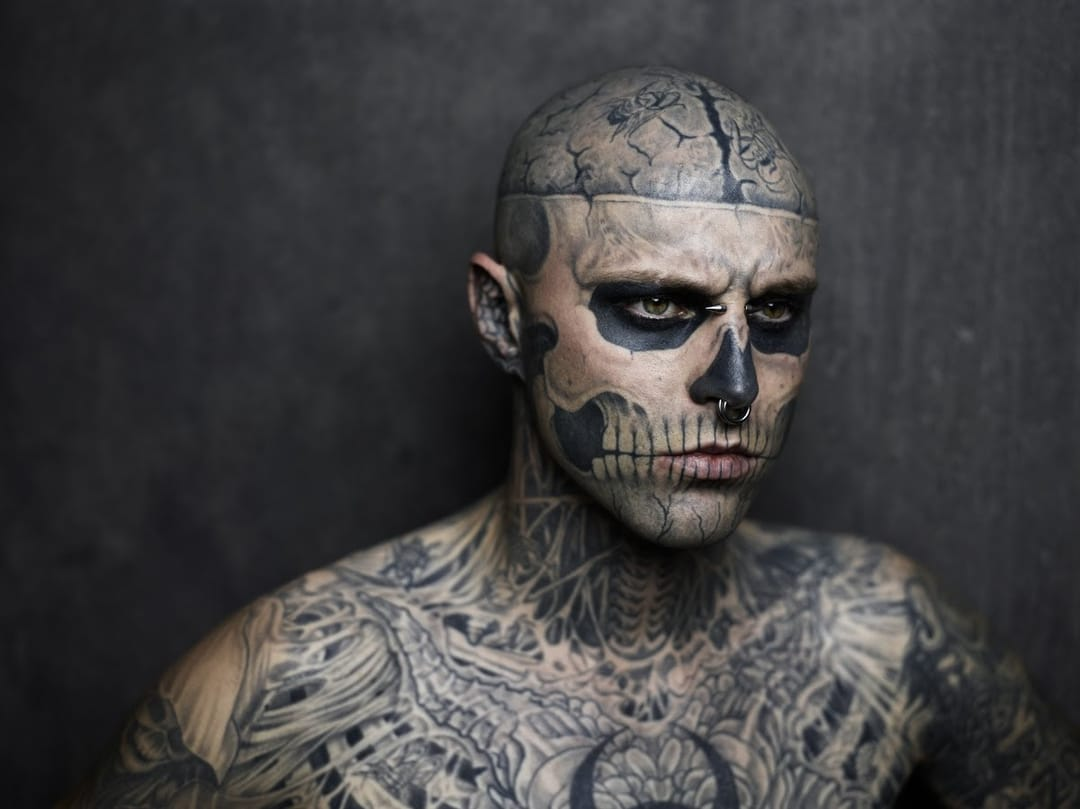 Acceptance of tattoos in mainstream media has also grown!