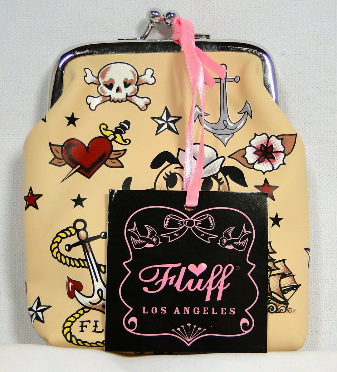 Tattooed wallet from Fluff Los Angeles
