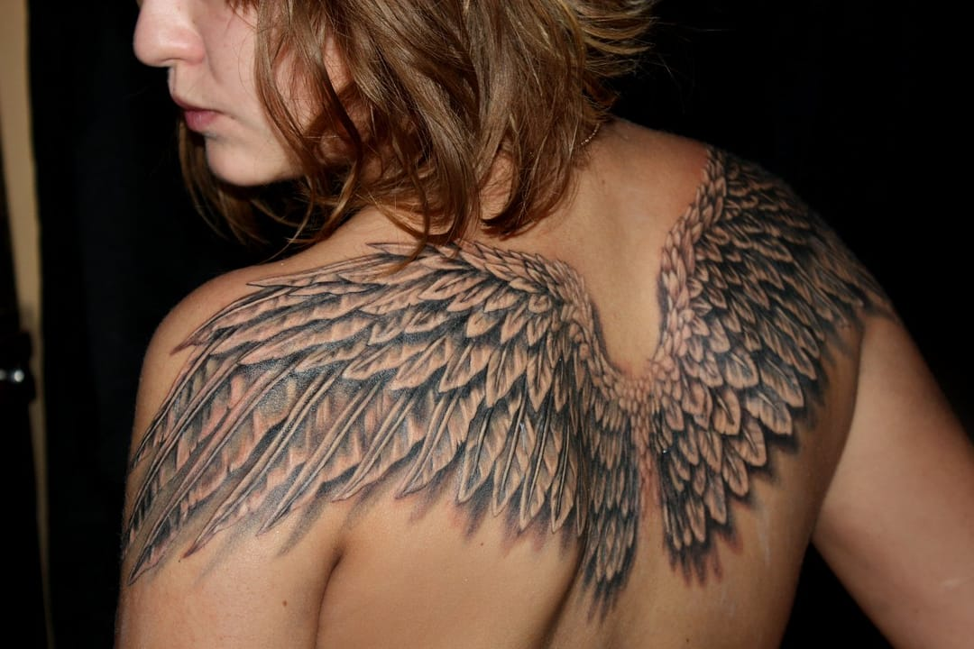 Regardless of these angel wings, I´m probably going to hell.
