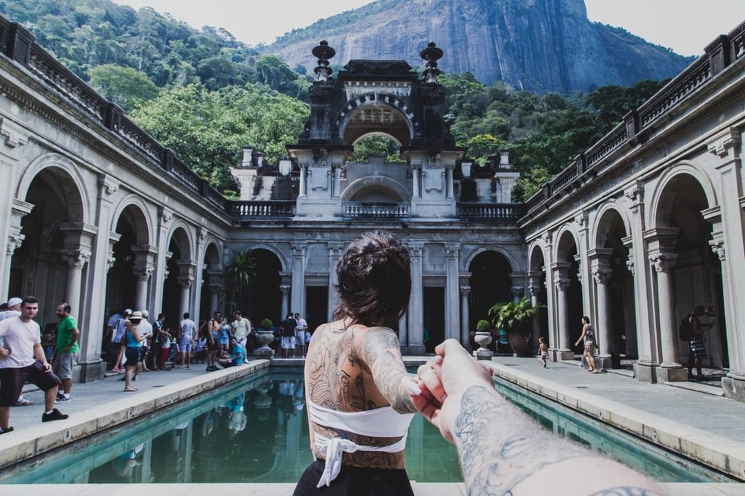 At Parque Lage, Brazil. Credit: 416 Shooter.