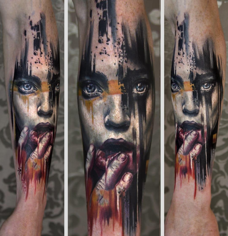 Amazing tattoo by Charles Huurman