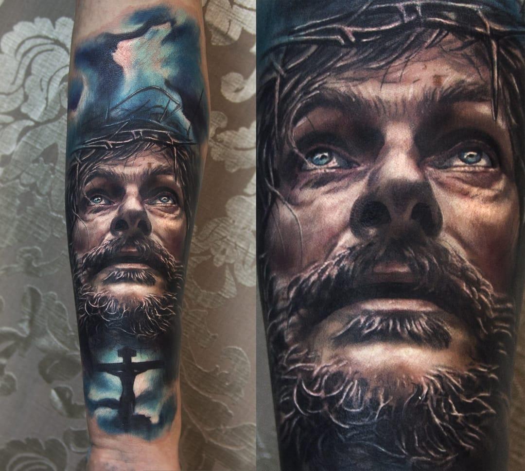 Epic Jesus portrait...