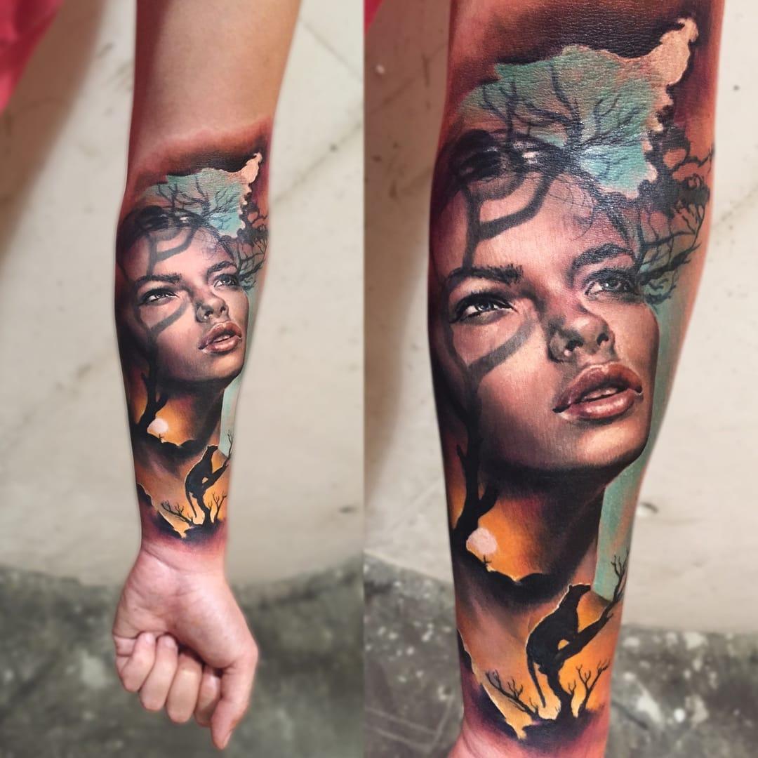 Tattoo by Charles Huurman