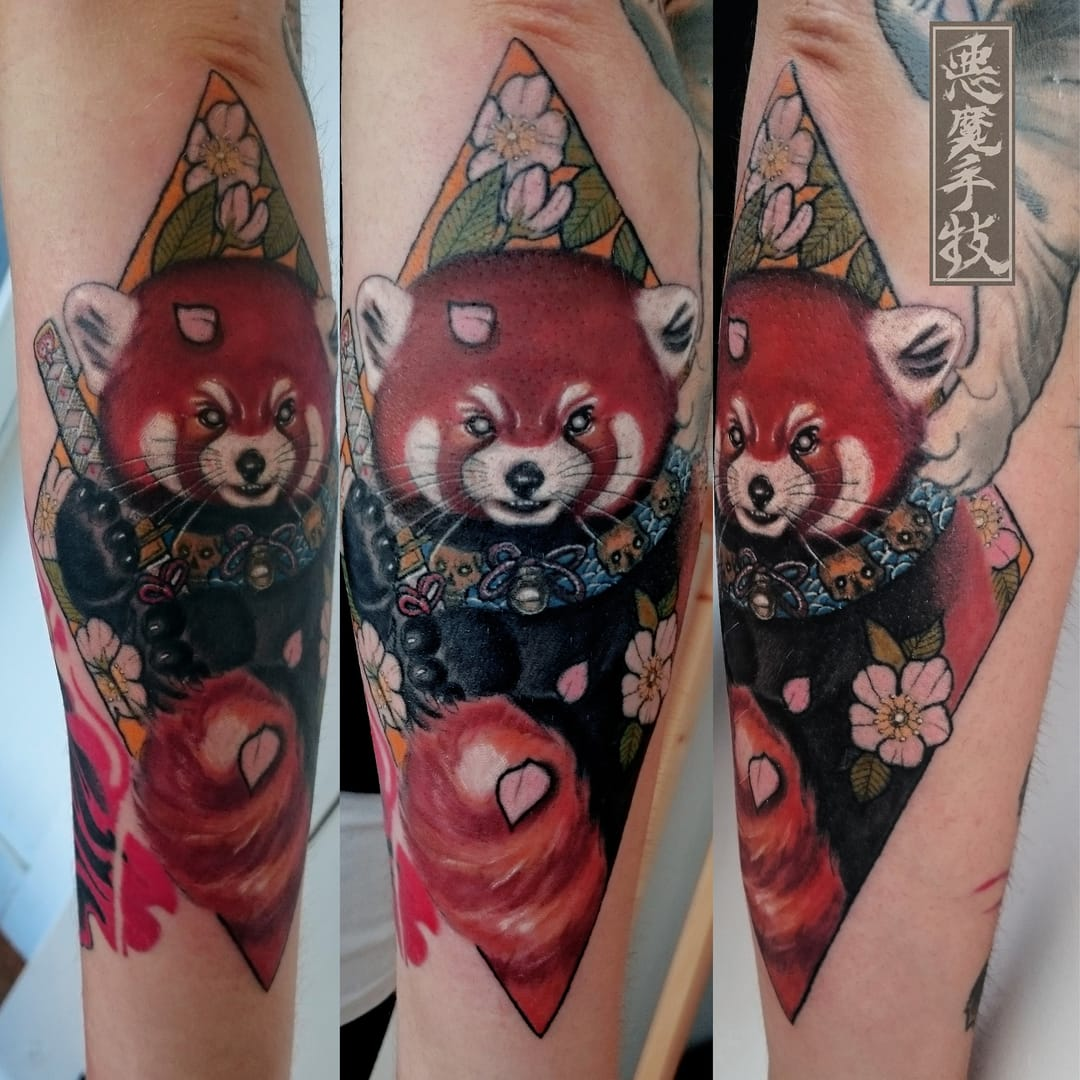 Awesome tattoo by Akuma Shugi