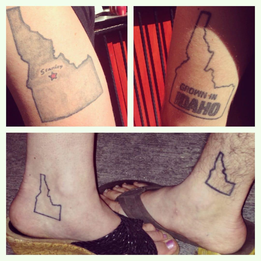 Idaho tattoo