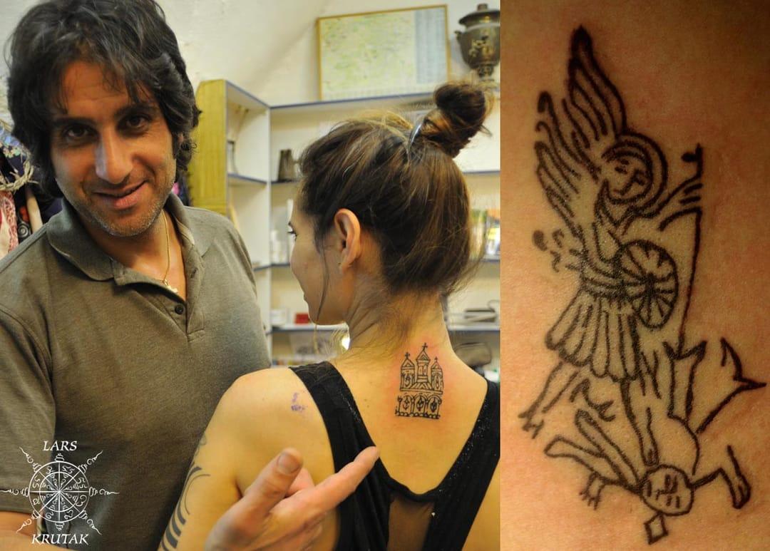 Current Razzouk family artist Wassim Razzouk