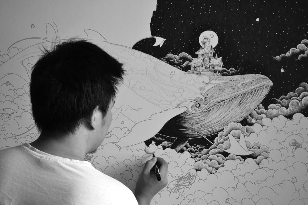 Kerby Rosanes working